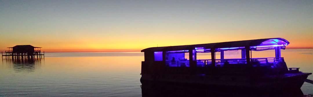 Island Paradise charter adrenaline fishing New Port Richey Florida sunset