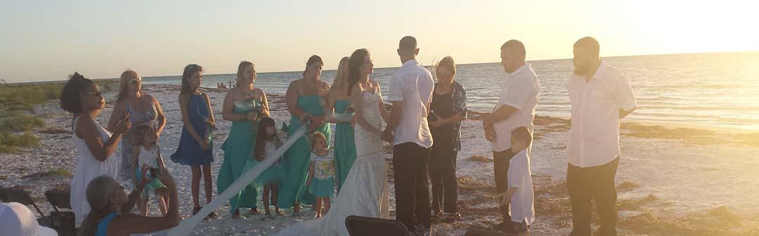 Island Paradise charter adrenaline fishing New Port Richey Florida weddings